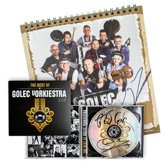 Płyta The Best of zespołu Golec Orkiestra + kalend