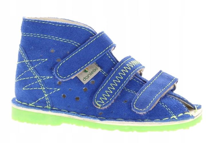 Danielki kapcie profilaktyczne TA105 r 18 blue Z