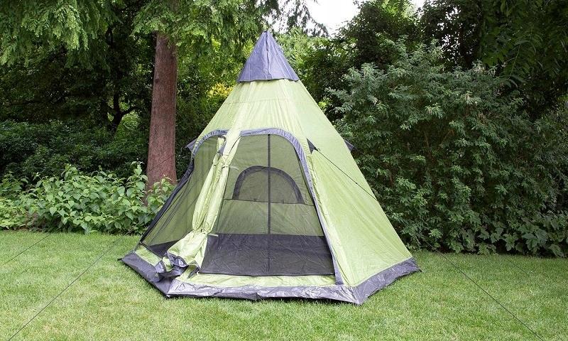Go Venture Namiot Tipi Rodzinne Zielone 130x200cm