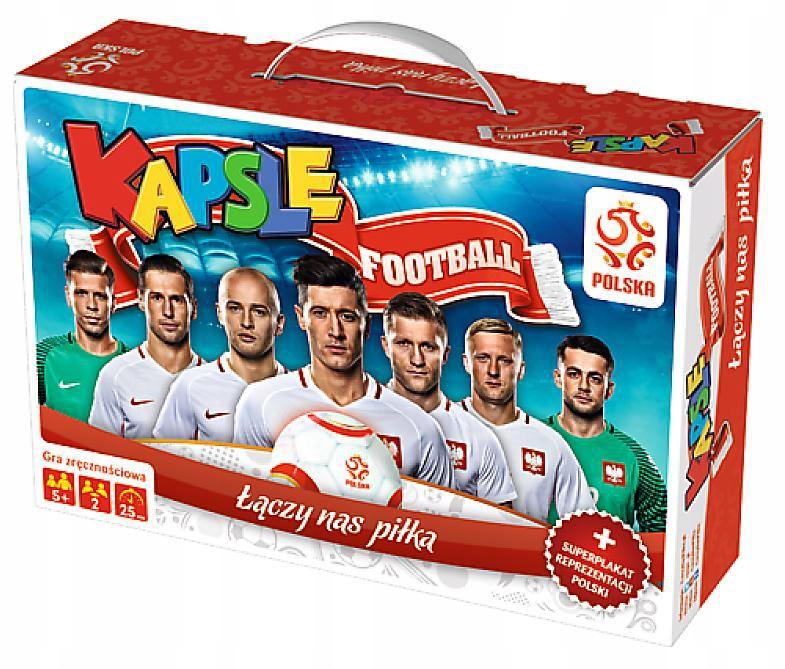 Kapsle Football PZPN. Łączy nas piłka. Trefl 01365