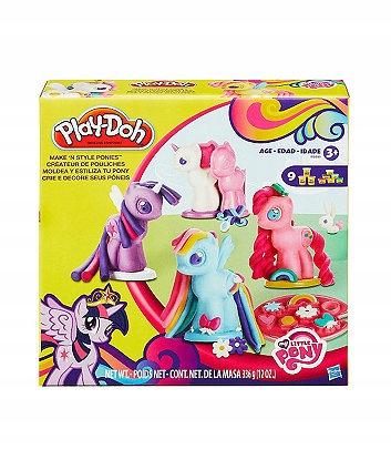 Play Doh My Little Pony Kucyki B0009 Ciastolina 7709250244 Oficjalne Archiwum Allegro