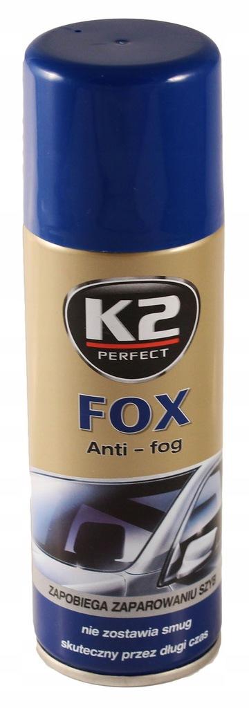 K2 FOX ZAPOBIEGAJĄCY PAROWANIU SZYB środek K322 BB