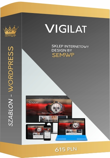 Szablon CMS WordPress Sklep Internetowy Vigilat