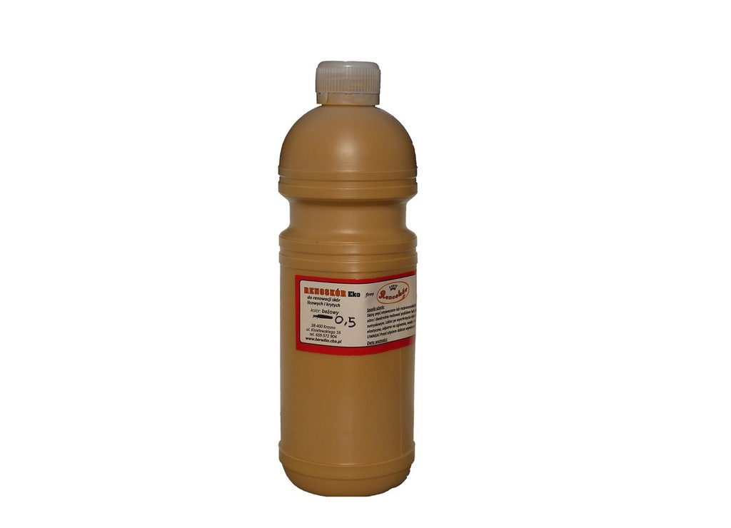 RENOSKÓR farba do skóry BEŻOWY 480 ml. WARSZAWA
