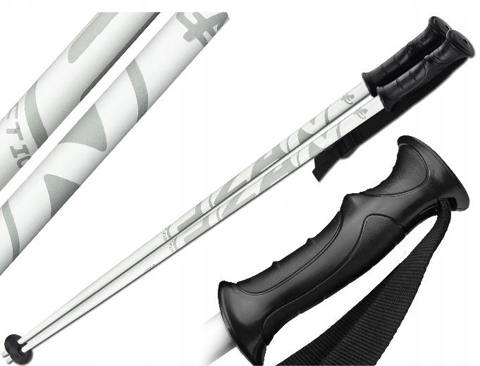 Kije narciarskie Fizan Action 120 cm Solidne