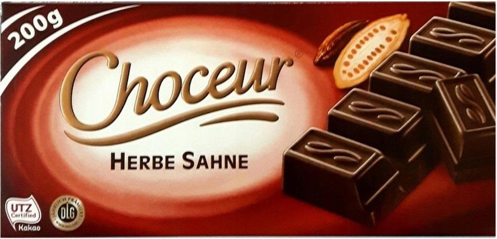 CHOCEUR Chateau Herbe Sahne czekolada deserowa DE