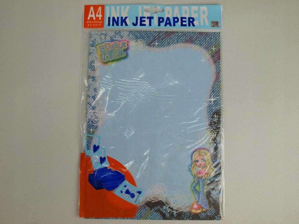 papier do drukarki a20 20 kartek BUBBLE GIRL