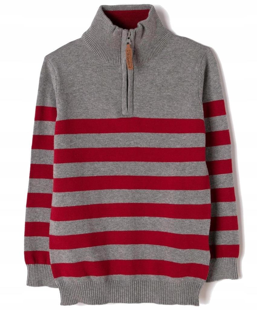 Sweter rozpinany chłopięcy Zippy 6865002 r 163
