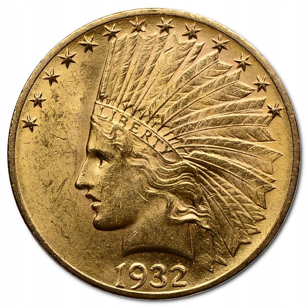 41.USA, 10 DOLARÓW 1932