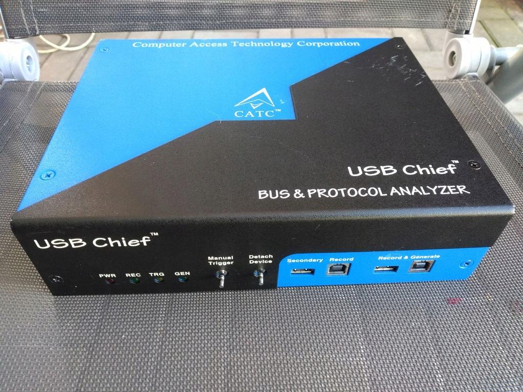 CATC USB Chief Bus & Protocol Analyzer