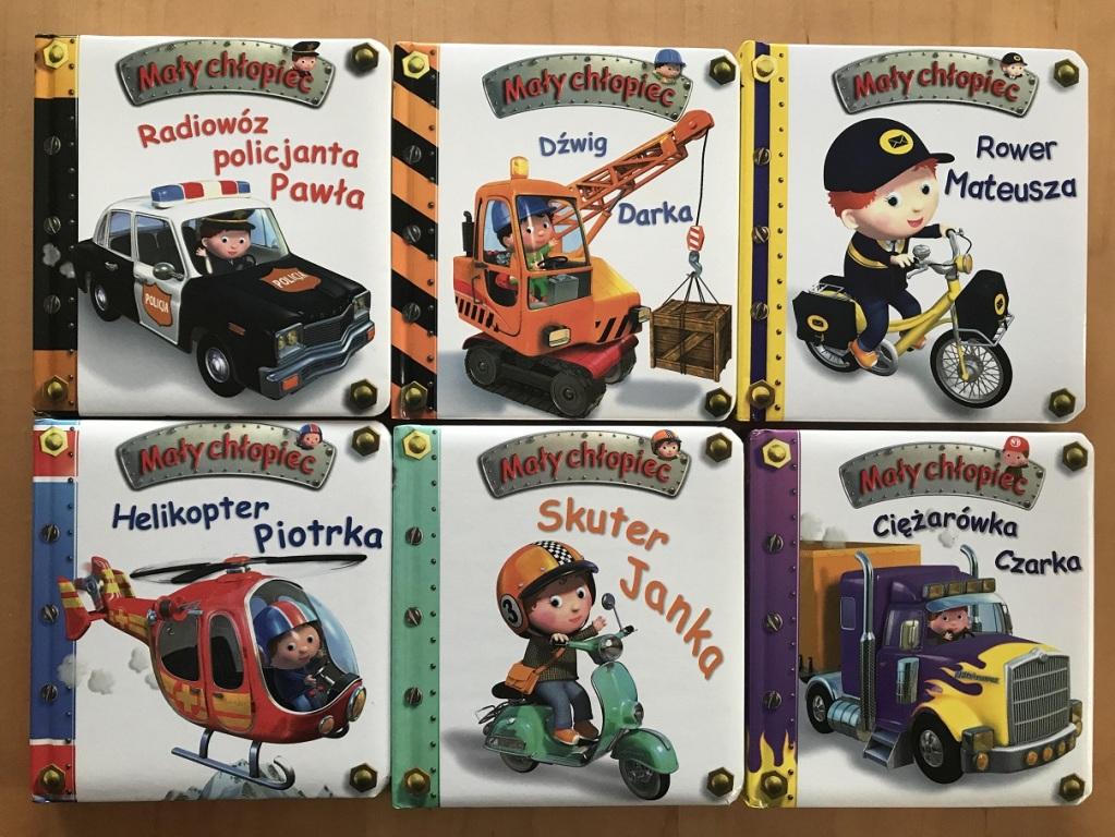 Mały chłopiec (6 książeczek - zestaw 1)