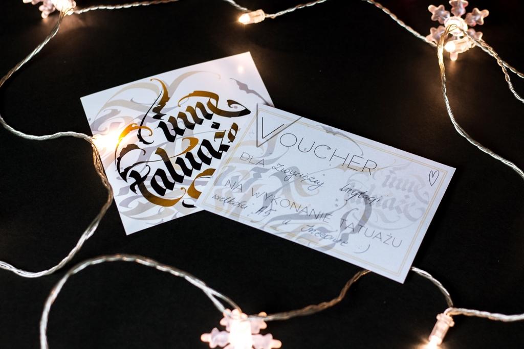 Voucher na tatuaż od Inez Janiak