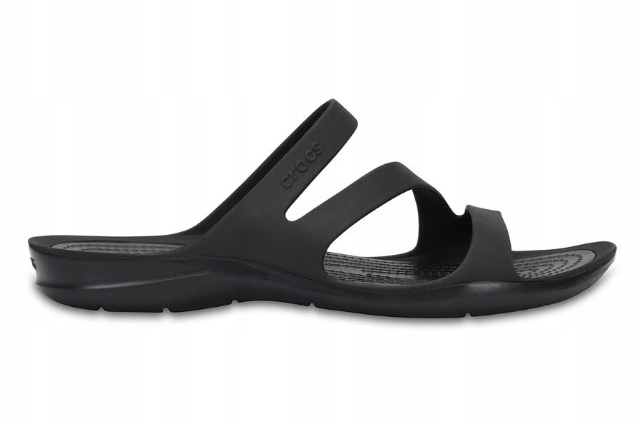 Klapki Crocs Swiftwater 203998 BLACK/BLACK 37,5