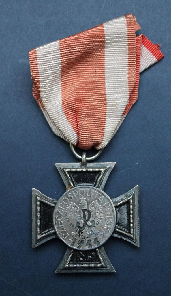 Krzyż Powstańczy za zabicie SS-manna