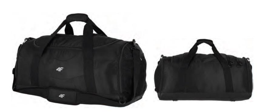 Torba podróżna sportowa 4F czarna 70L TPU011