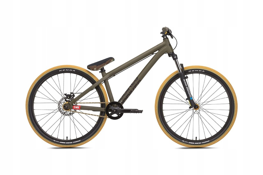 "NS Bikes Zircus 26"" rower 2019-camo"