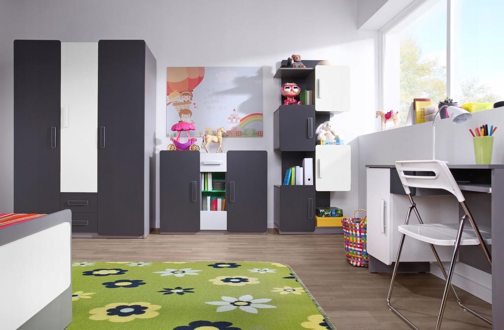 Duży zestaw mebli do pokoju dziecka LIDO5