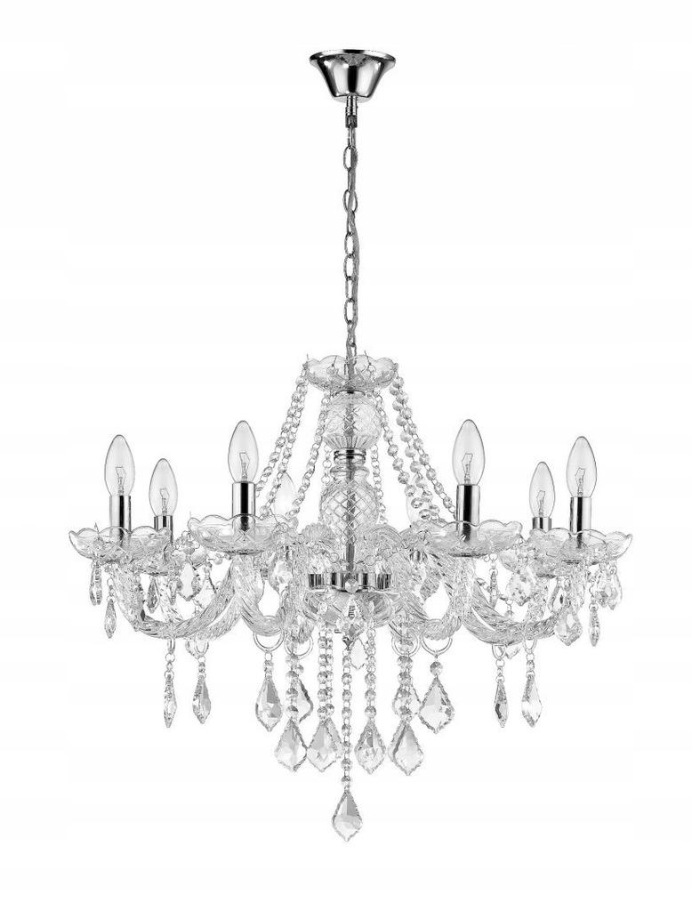 Lampa wisząca Cristallo bardzo elegancka z klasą_L