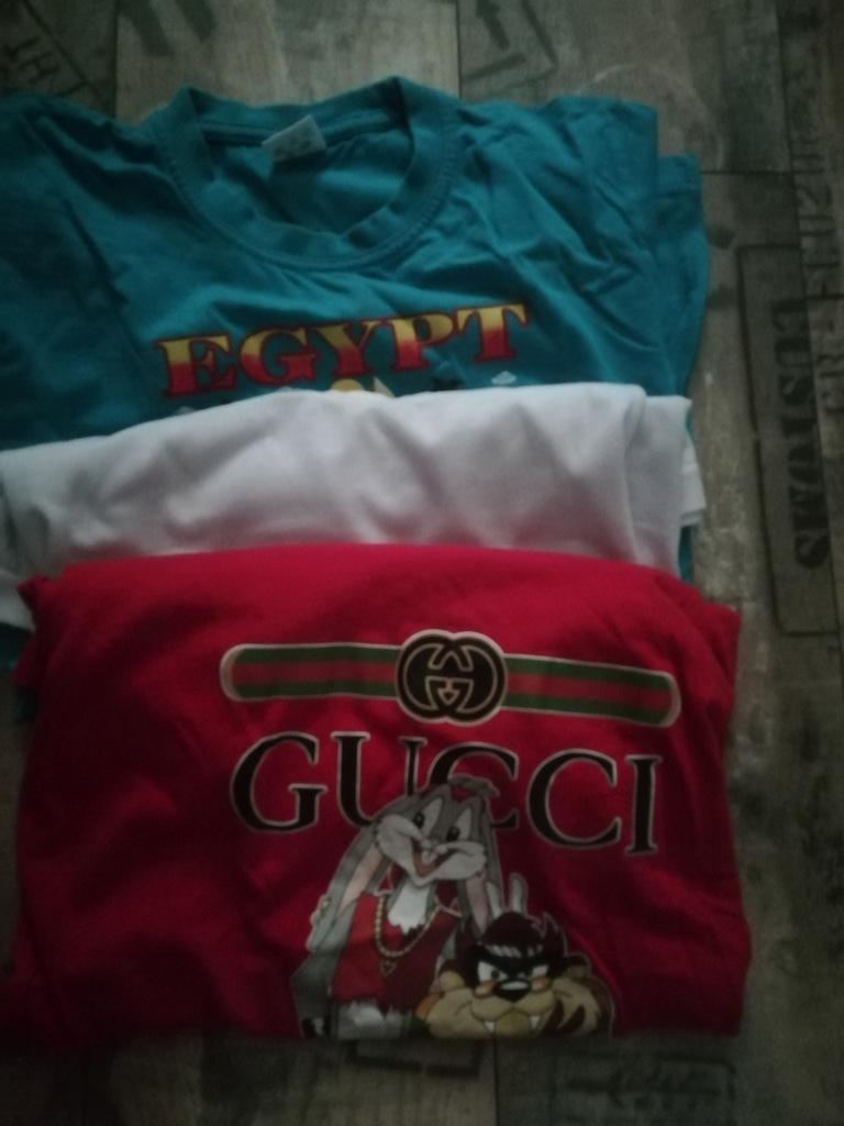 Trzy koszulki dla chłopca