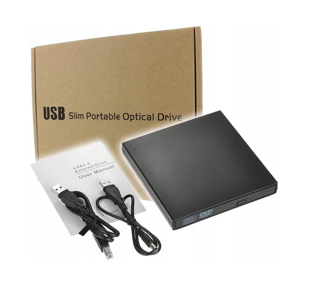 Napęd CD-R/RW/DVD-ROM Nagrywarka Zewnętrzna USB