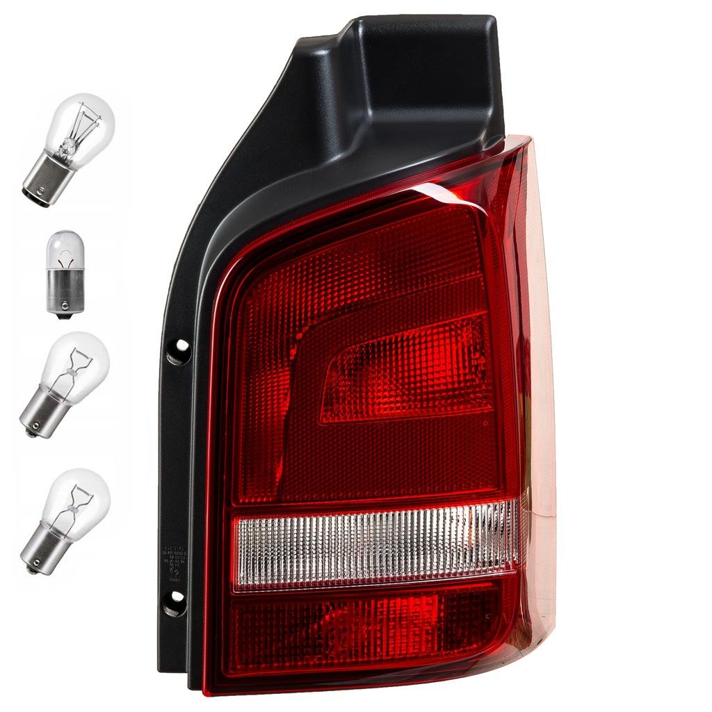 VW TRANSPORTER V T5 LAMPA TYLNA PRAWA 7E5945096C