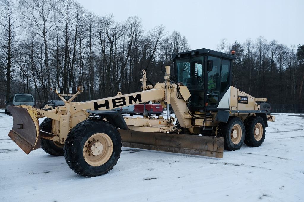 Równiarka drogowa Bomag BG 160 TA -HBM 6X6 zrywak