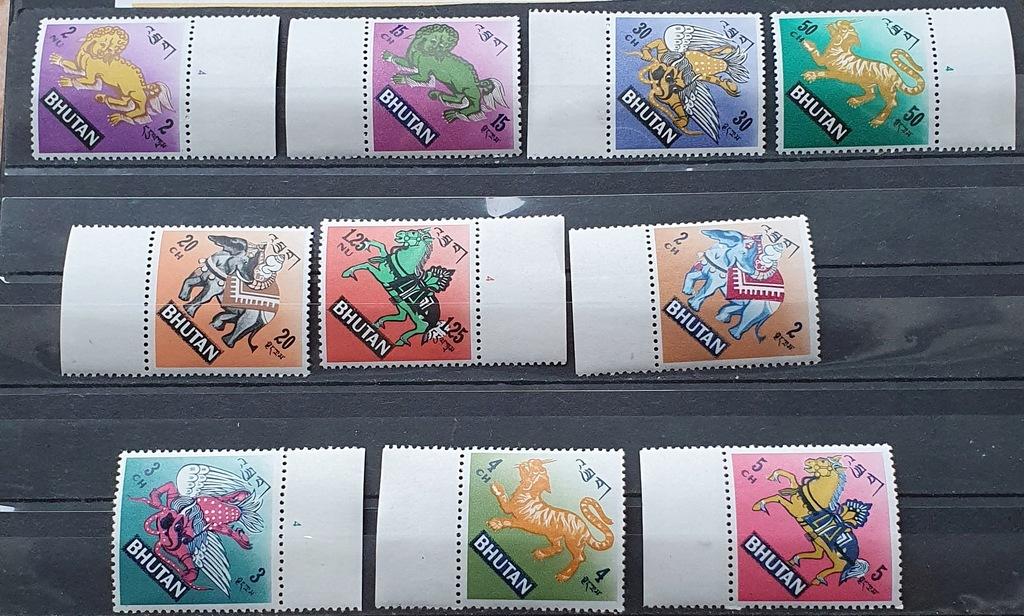BHUTAN ** 1968 MI 194-203