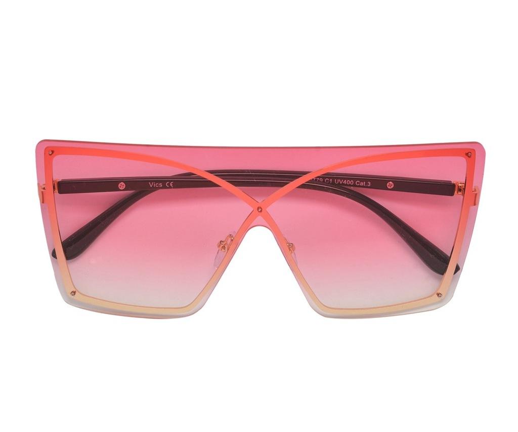 SAMANTHA Okulary damskie przeciwsłoneczne Różowy