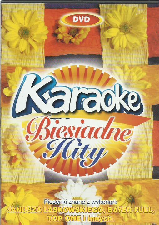 DVD KARAOKE BIESIADNE HITY