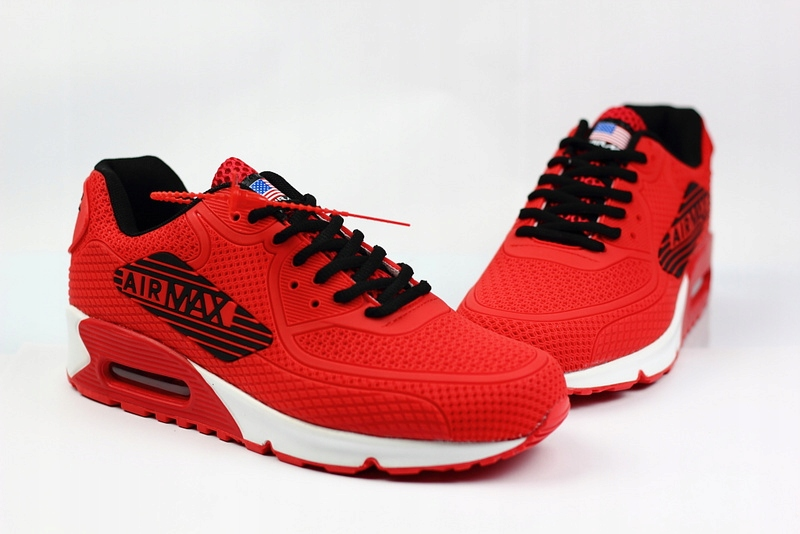 Nike Air Max 90 r. 41 czerwone 7640917019 oficjalne