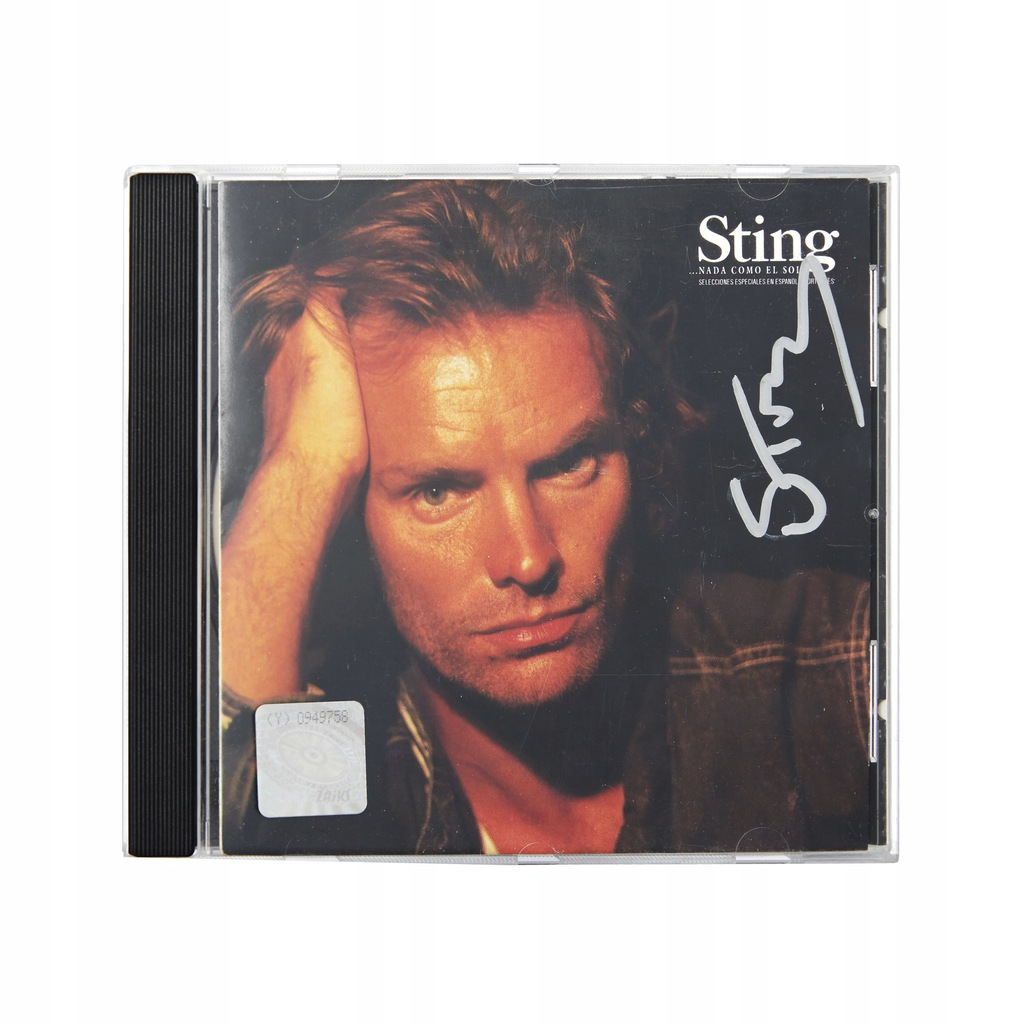 Płyta CD z autografem Stinga