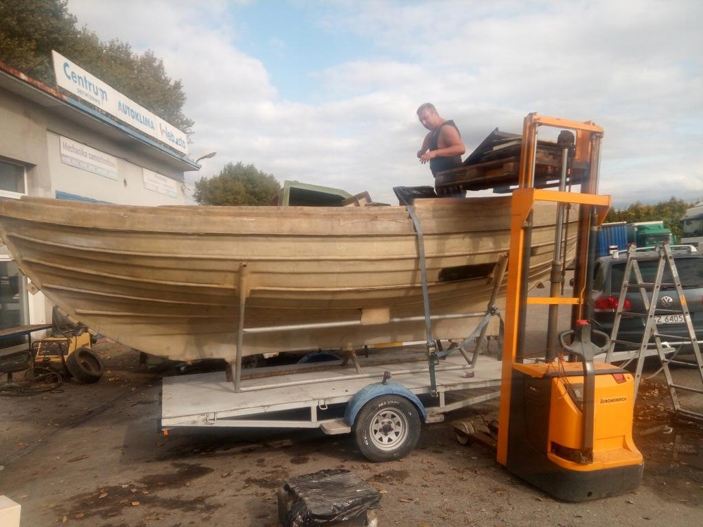 Formy do produkcji łodzi turystycznej Holenderskie