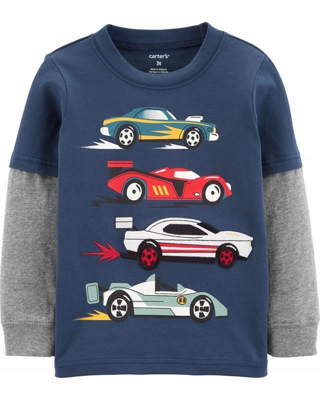 Carter's Bluzka samochody 3T 98