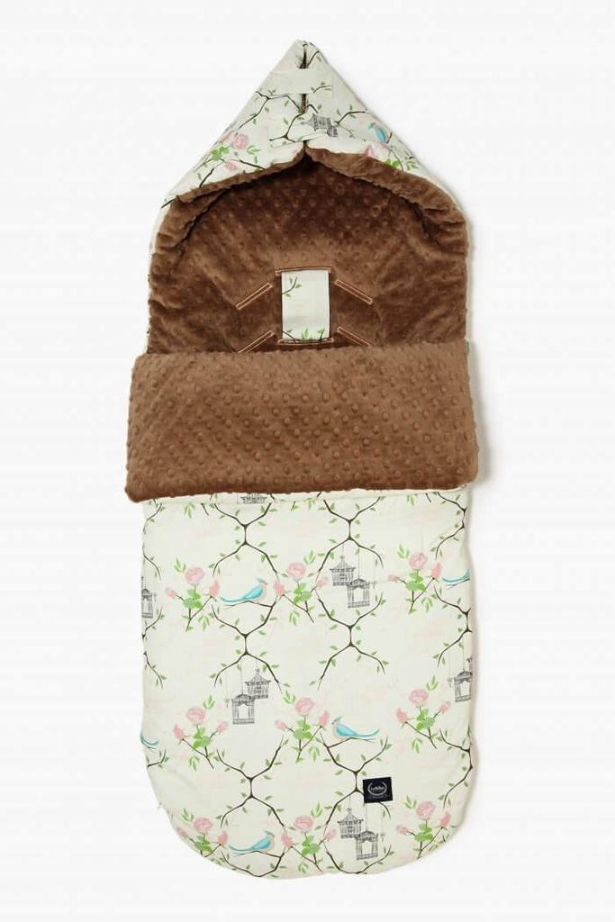 Stroller Bag Śpiworek S - Maggie Rose Vanilla Choc