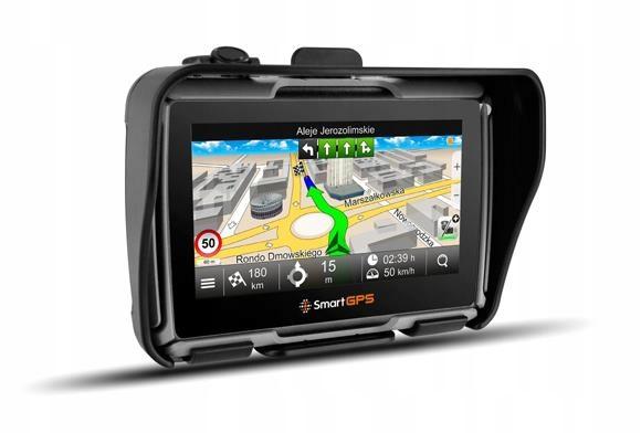 Nawigacja GPS motocyklowa SmartGPS Europa Polska