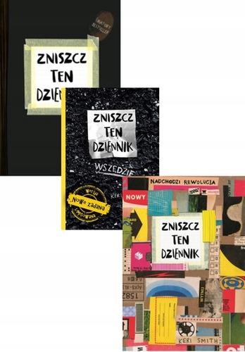 Smith Keri Pakiet 3x Zniszcz Ten Dziennik 7499052365 Oficjalne Archiwum Allegro