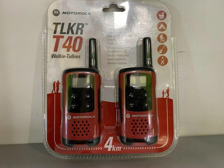 WALKIE-TALKIES MOTOROLA / TLKR T40