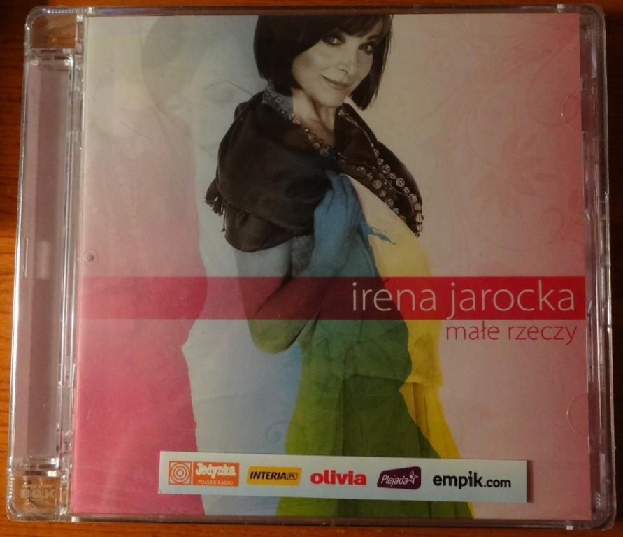 """IRENA JAROCKA """"MAŁE RZECZY"""" CD - NOWA"""