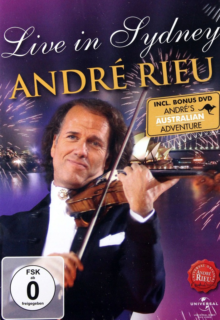 ANDRE RIEU: LIVE IN SYDNEY / ANDRE'S AUSTRALIAN AD