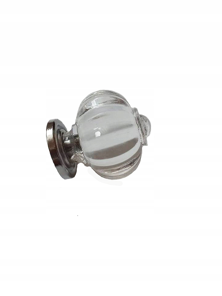 uchwyt meblowy gałka szklana