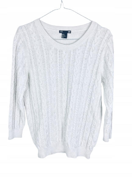 Sweter warkocze H&M M 38