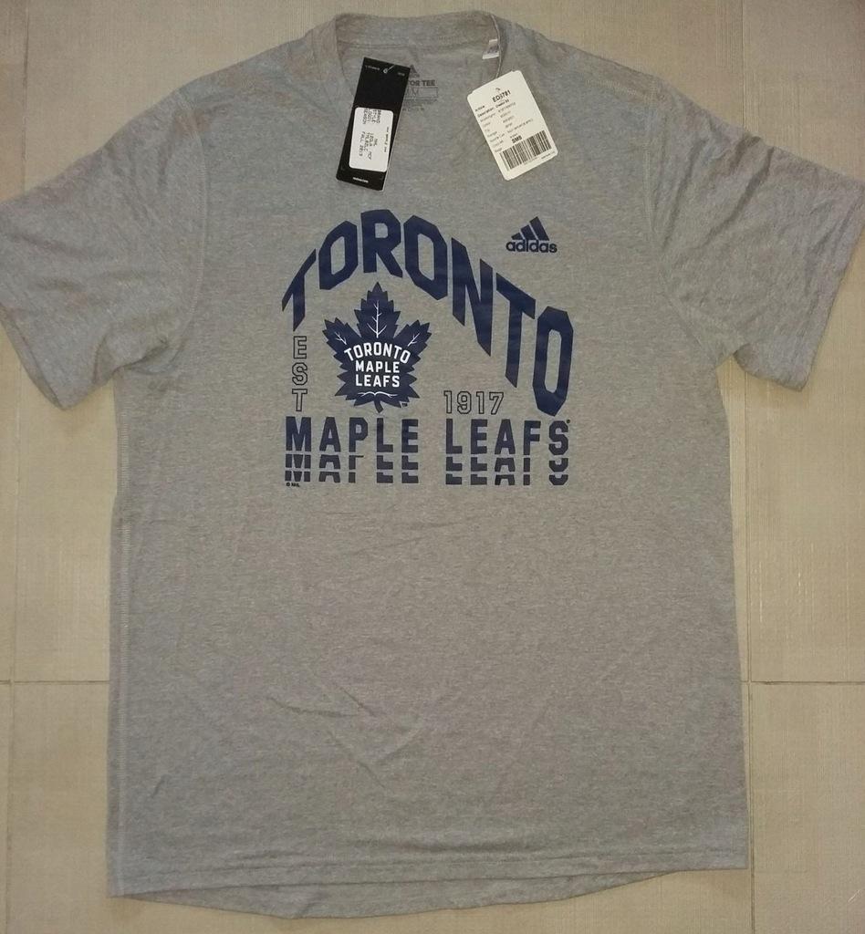 T-shirt Adidas NHL Toronto Maple Leafs z USA M
