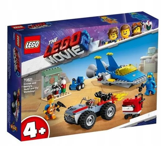 LEGO 70821 Movie Warsztat Emmeta i Benka