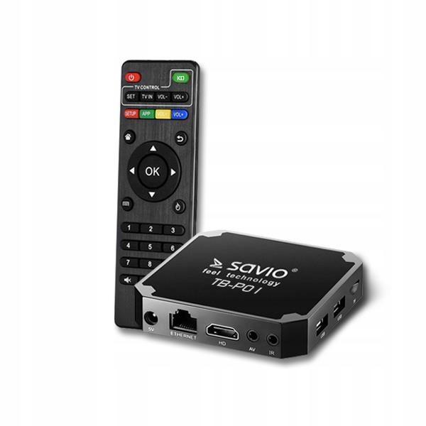 Odtwarzacz multimedialny SAVIO TB-P01 (16GB; kolor