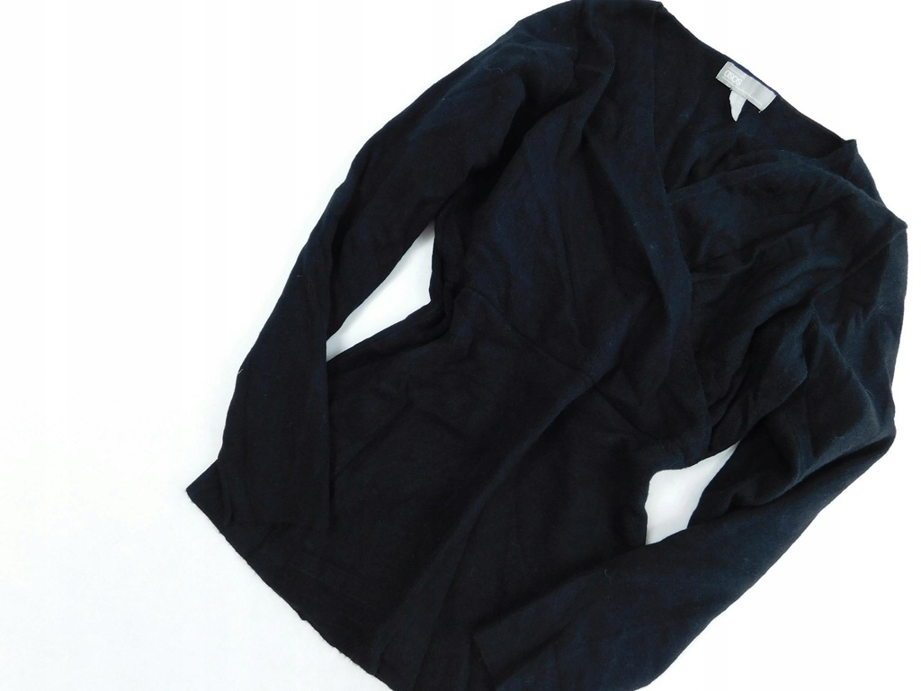 0805e7 ASOS sweter CZARNY klasyczny L