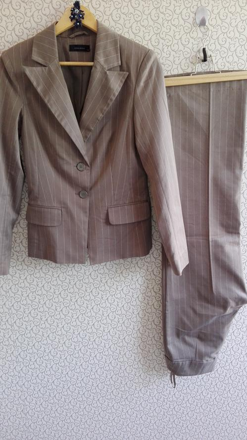 VEROMODA Garnitur Komplet Kostium Damski Khaki 36