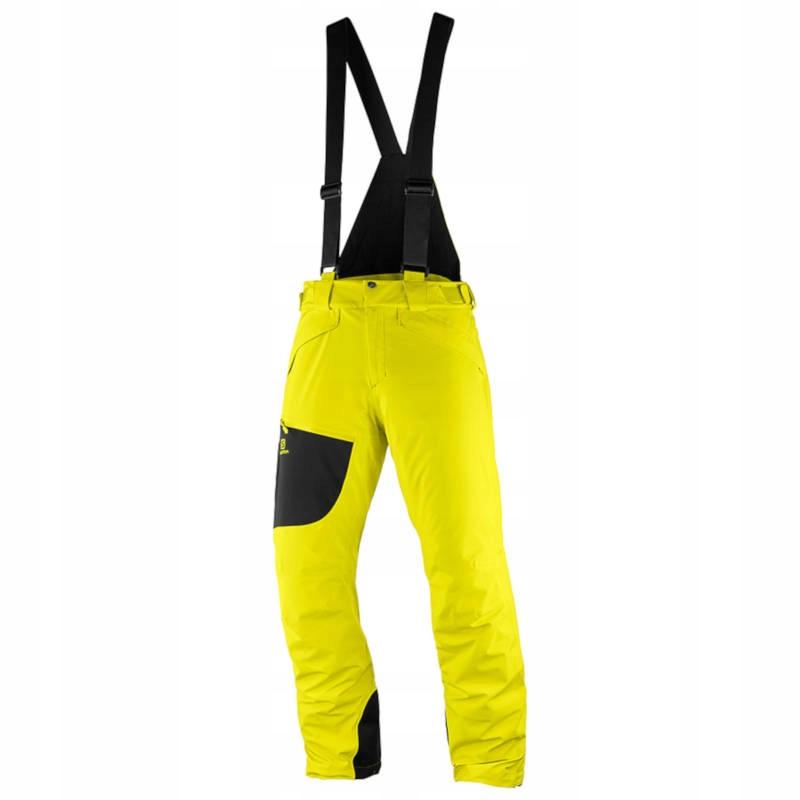 Spodnie Salomon Chill Out Bib Sulphur r. L/R
