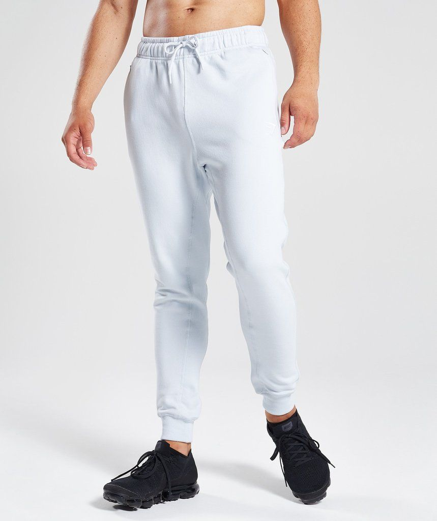 Gymshark, M, joggersy clear water