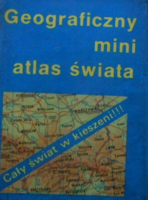 Geograficzny mini atlas świata