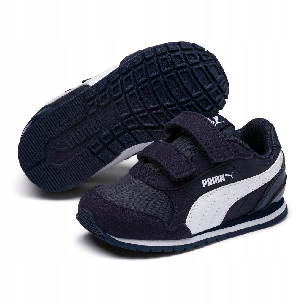 Buty Puma czarne dla dziecka sportowe sport r. 34
